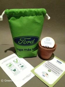 Kit Plantable. Bolsa de tela ecológica, papel semilla, folleto con mensaje de #RSE, porron y sustrato!!!